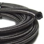 Black Nylon Braided Hose 100 Series
